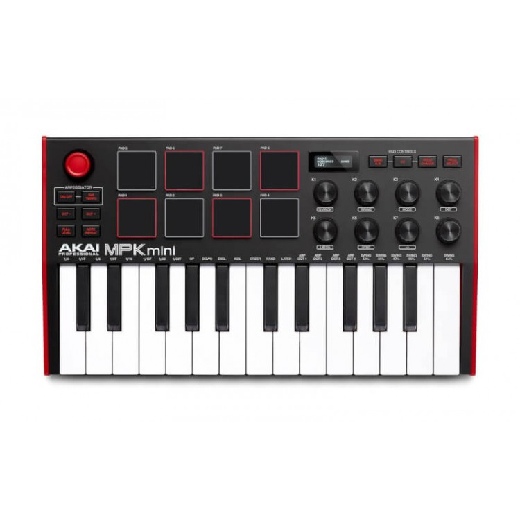 最新一代 AKAI MPK Mini MKIII 主控鍵盤