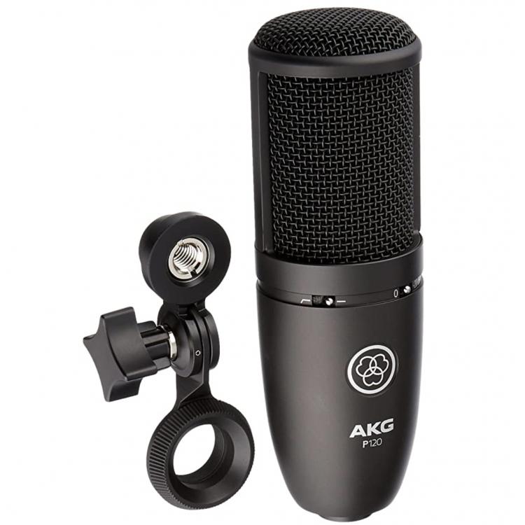 AKG Perception P120 電容式 大震模 麥克風