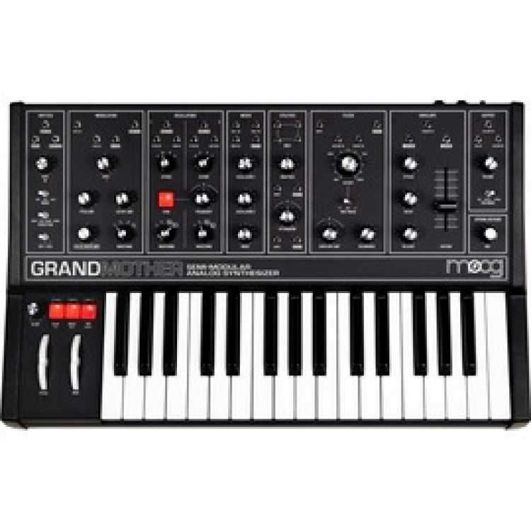 Moog Grandmother Dark 半模組類比合成器