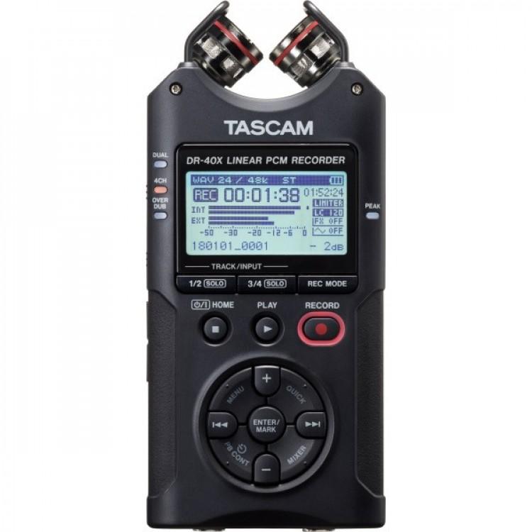 Tascam DR-40x 四軌攜帶型數位錄音機 錄音筆