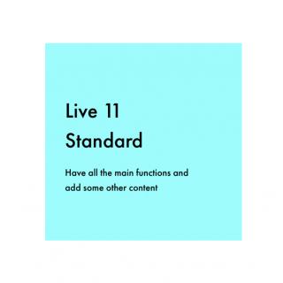 Ableton Live 11 Standard Education 教育版 音樂工作站軟體 ( 序號下載版 )