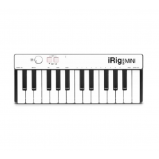 IK Multimedia - iRig KEYS Mini - ( iphone/ipad/android/MAC/PC 通用型 ) MIDI主控鍵盤