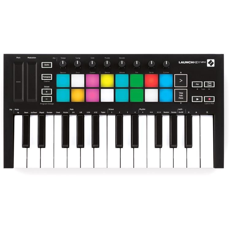 最新一代!Novation Launchkey Mini MKIII 主控鍵盤 / midi 鍵盤