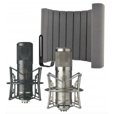 Sontronics STC-2 錄音室麥克風 + Vicoustic Flexi Screen Lite II 麥克風 防串音 防反射 遮罩