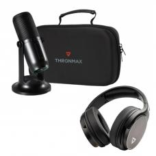 Thronmax 直播 廣播套裝(含麥克風 耳機 防噴罩)