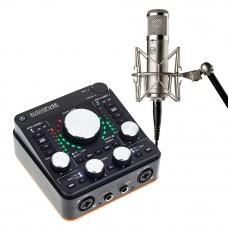 Arturia AudioFuse REV-2 + Warm Audio WA47jr 專業麥克風|錄音套裝