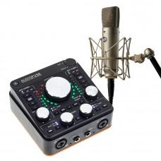 Arturia AudioFuse REV-2 + Warm Audio WA87 R2 專業麥克風|錄音套裝