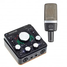 Arturia AudioFuse REV-2 + AKG C214 電容式麥克風|錄音套裝