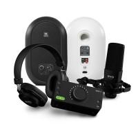 Audient EVO Start Recording Pack 錄音介面套組 + JBL 104BT 藍芽同軸監聽喇叭|錄音監聽套裝組