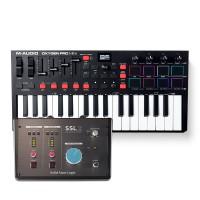 Solid State Logic SSL 2 錄音介面 + M-Audio Oxygen Pro Mini 主控鍵盤|創作套裝