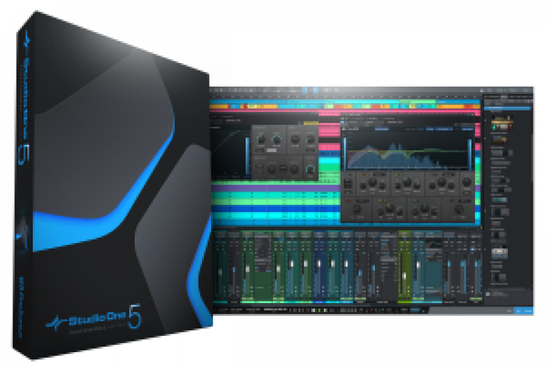 PreSonus Studio One 5 正式推出!全面更新強大功能