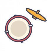鼓皮 銅鈸 鼓組零件