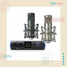PreSonus Studio STC-2 錄音套裝 | 用聲音寫故事