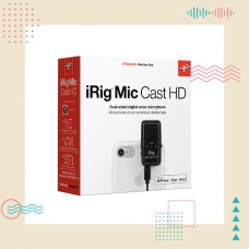 IK Multimedia - iRig Mic Cast HD | 用聲音說故事