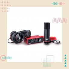 Focusrite Scarlett 第3代 Solo/2i2 Studio 錄音介面套裝組 | 用聲音寫故事