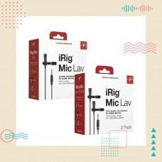 IK Multimedia - iRig Mic Lav/Lav2 領夾式迷你麥克風 | 用聲音寫故事