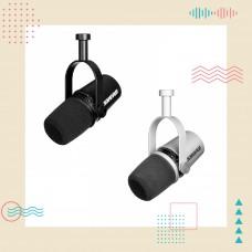Shure MV7 動圈式/USB 二合一 Podcast 專業麥克風 | 用聲音寫故事