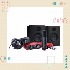 Focusrite Scarlett錄音監聽套裝組 | 用聲音寫故事